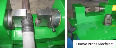 Daiwa CA Lance - Connection method