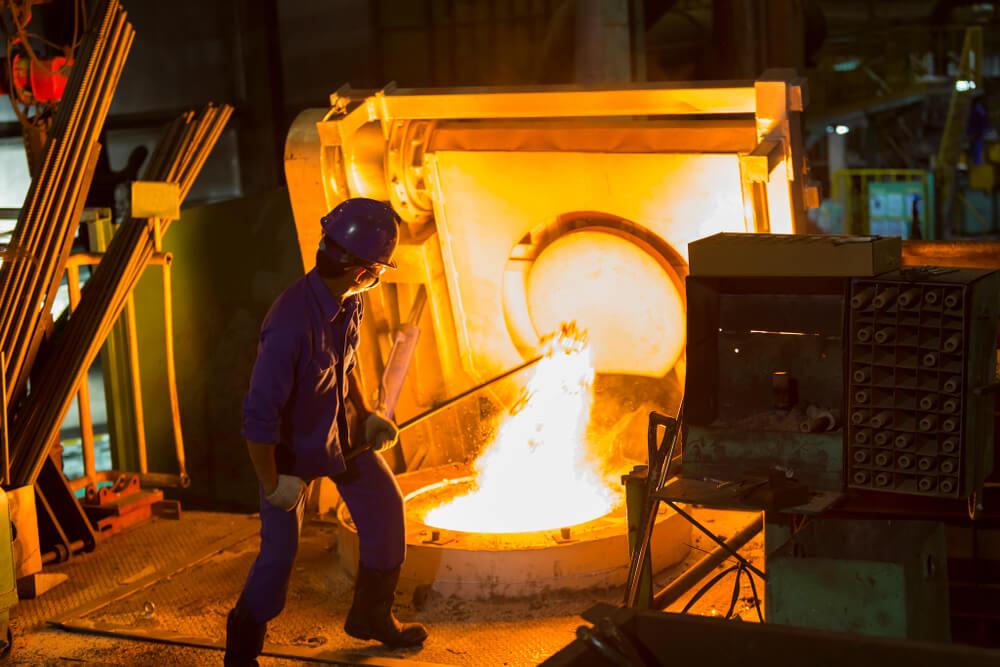 DAIWA CA LANCE use in Blast furnace
